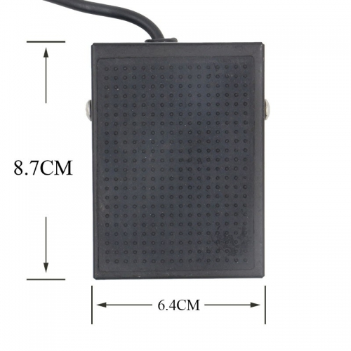 New Arrived An Anti-slip Rubber Mini Foot Switch Pedal Tattoo Square Pedal For Tattoo Machine Power Supply