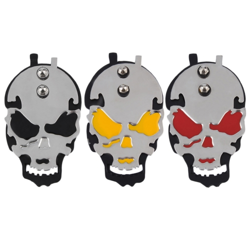 Skull Tattoo Power Supply Foot Switch Pedal Stainless Steel New