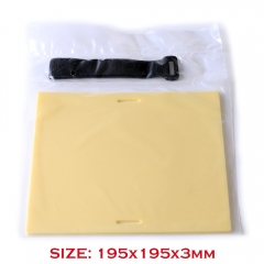 Tattoo Practice Skin 195*195*3MM Arm-hold Practice Skin  Blank Plain For Needle Machine Supply