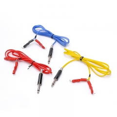 Tattoo Economic Tattoo Clip cord, 100% Soft Silicone for Tattoo Power Supply Tattoo Foot Switch