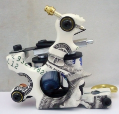 Beginner Tattoo Gun Machine For Liner Shader  Handmade Tattoo Machine Artist Basic Starter