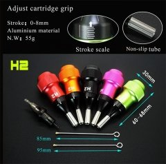 30MM  Professional High Quality Tattoo Machine Adjustable Cartridge Grip
