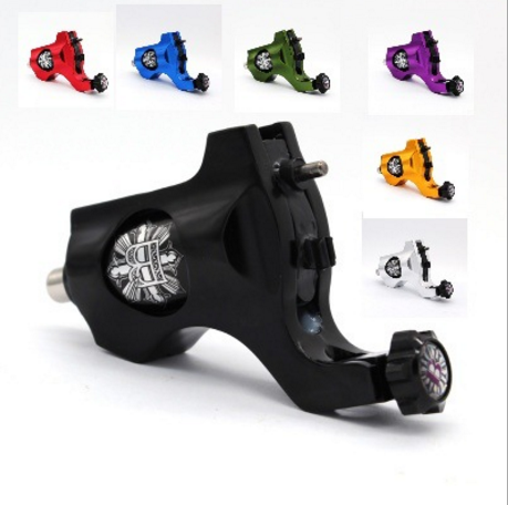Newest Bishop Style Precision Rotary Tattoo Machine RCA cord Shader/Liner Wholesale