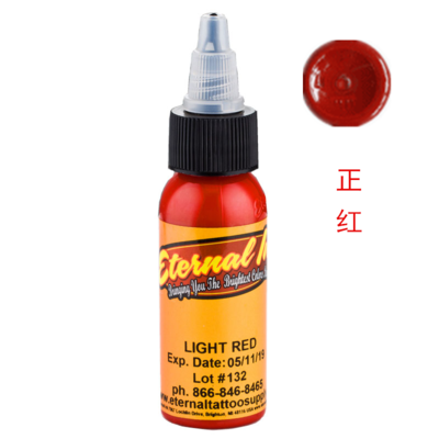 Light Red -1 OUNCE BOTTLES Original Eternal Ink