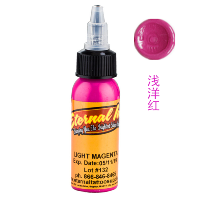 Light Magenta-1 OUNCE BOTTLES Original Eternal Ink