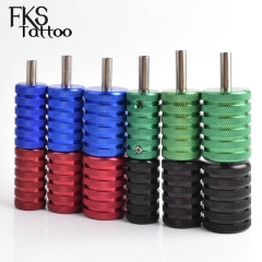 Aluminum Alloy Knurled Tatoo Grips 25mm 30mm 35mm  for Tattoo Machine Tattoo Gun Kit