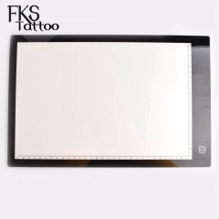 5.5mm Super Thin A4 LED Drawing Copy Tracing Stencil Board Table Tattoo Pad Translucent Light Box USB