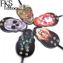 Skull Footswitch 1.5M Wire Graffiti Tatoo Pedal Rubber Non-slip Tatu Foot Switch